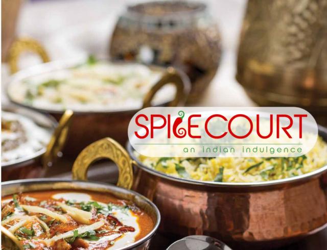 spice court restaurant website by zigsee