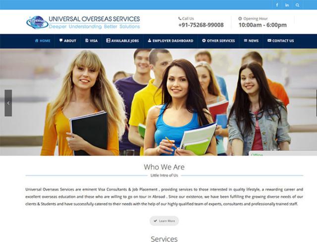 universal overseas services amritsar thumbnail zigsee past work