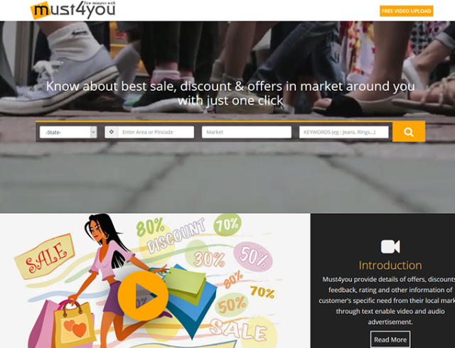 Must 4 You - Marketplace website